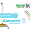 Carepoint LSB11m with Never Loose magnetic light mount by Carbon Tech